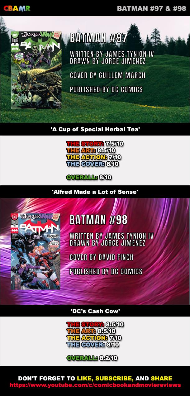 BATMAN #97 & #98