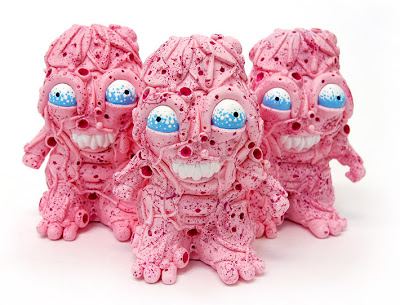 Amorphous Blob Resin Figures by Sekure D