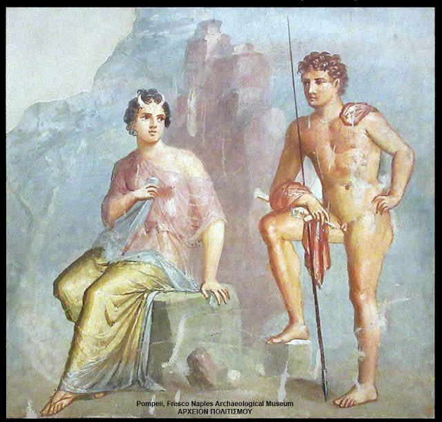 Ο Άργος φυλάει την όμορφη Ιώ για να μην ξελογιάσει τον Δία