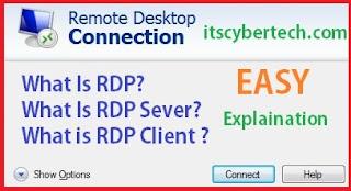 What Is RDP | RDP Server | Remote Desktop Portocol | Easy Explaiantion