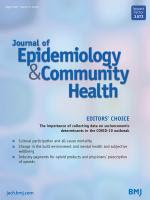Journal of Epidemiology and Community Health cover