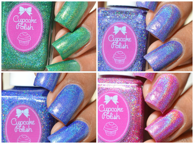 Cupcake Polish Butterfly Collection
