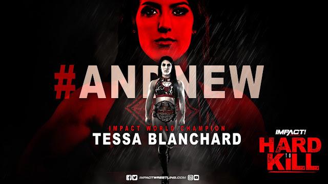 Tessa Blanchard conquista o IMPACT World Championship