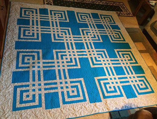Twisted Craze Quilt Free Pattern