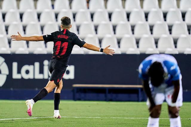 Crónica Leganés 0 - Sevilla FC 3