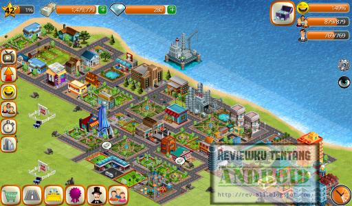 3 Mulai bermain simulasi membangun kota di sebuah pulau - game android Village City: Island Sim (rev-all.blogspot.com)