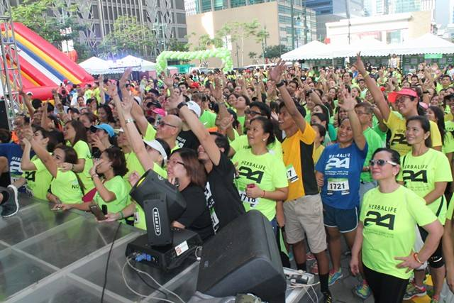 Herbalife Nutrition Celebrates 22nd Anniversary with 3,000 Participants at 'Fun Walk and Run'