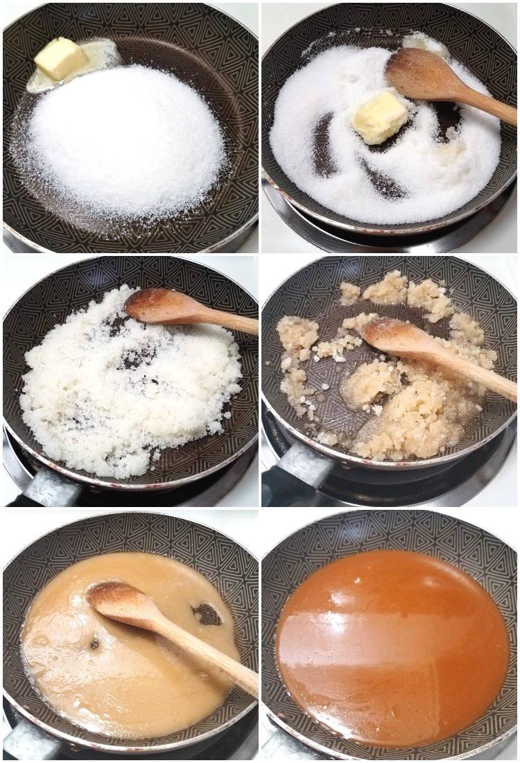 Cómo hacer crocante de nueces o semillas