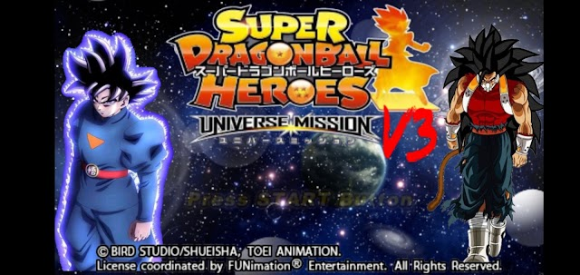 Super Dragon Ball Heroes Ultimate Mission X Tenkaichi Beta V3 PPSSPP For Android