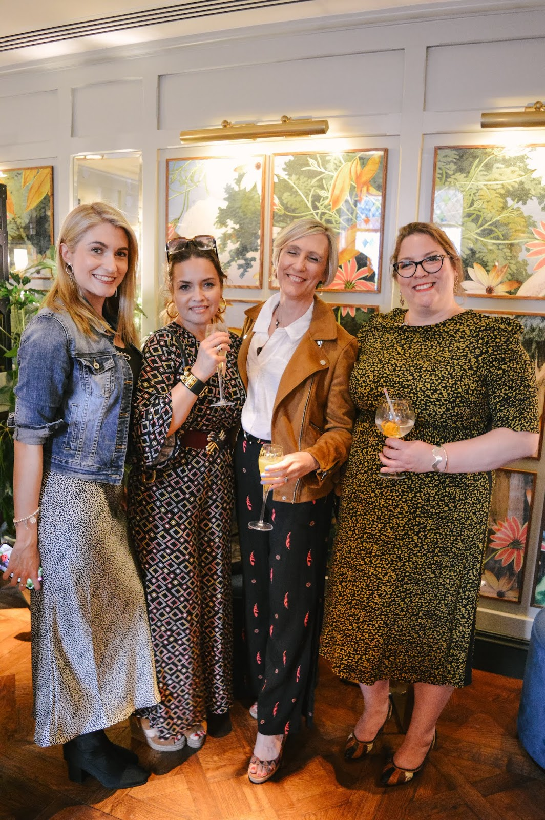 Fashion Influencers ta Winchester Fashion Week Launch Party At The Ivy