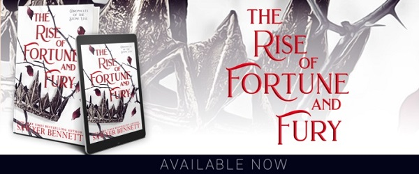 The Rise of Fortune and Fury by Sawyer Bennett Available Now.