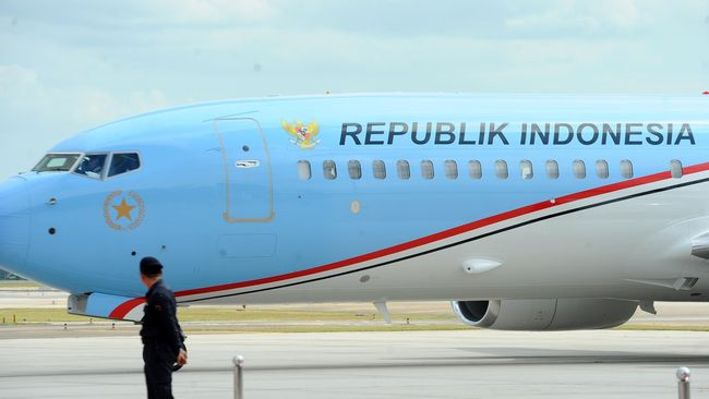 Kenapa Pesawat Kepresidenan Idealnya Warna Biru? Begini Penjelasan Pakar