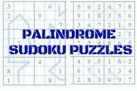 Palindrome Sudoku Variation Puzzles