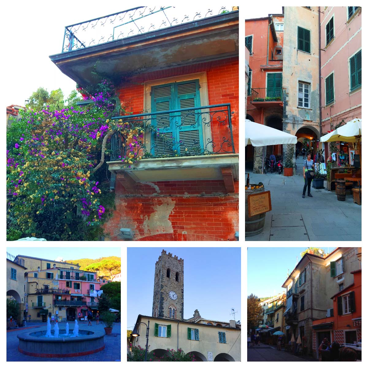 Centro histórico de Monterosso Al Mare, Cinque Terre