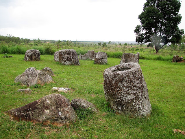scattered jars plain of jars laos