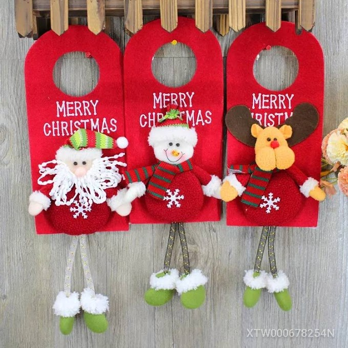 Christmas decoration door hanging ornaments