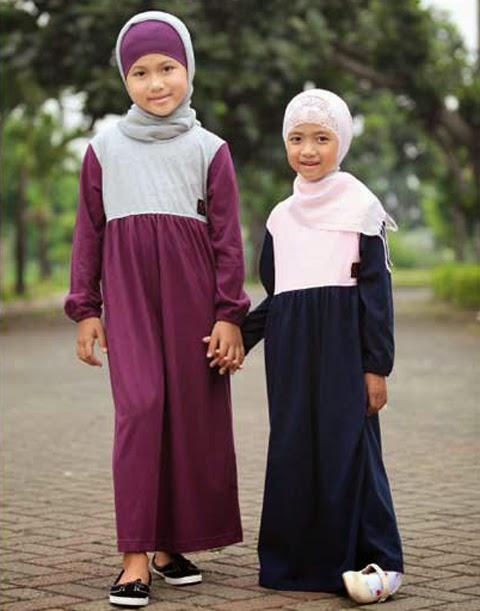 model baju gamis anak-anak