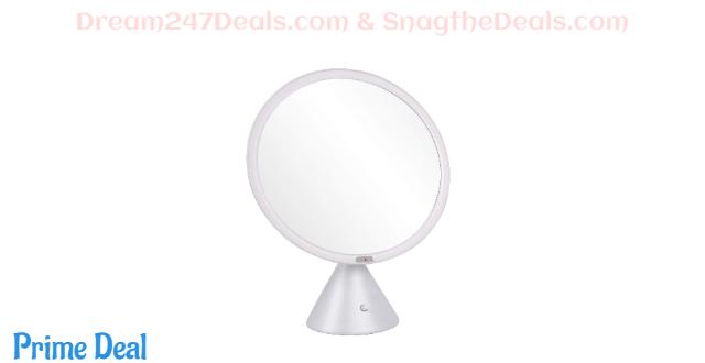 40% OFF  Makeup Mirror with Lights, Bathroom Vanity Mirror 61 LED Auto Sensor