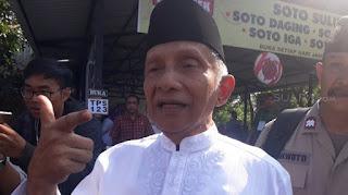 Dituduh Sengaja Kritik Jokowi Agar Anaknya Jadi Menteri, Amien Rais: Gundulmu!