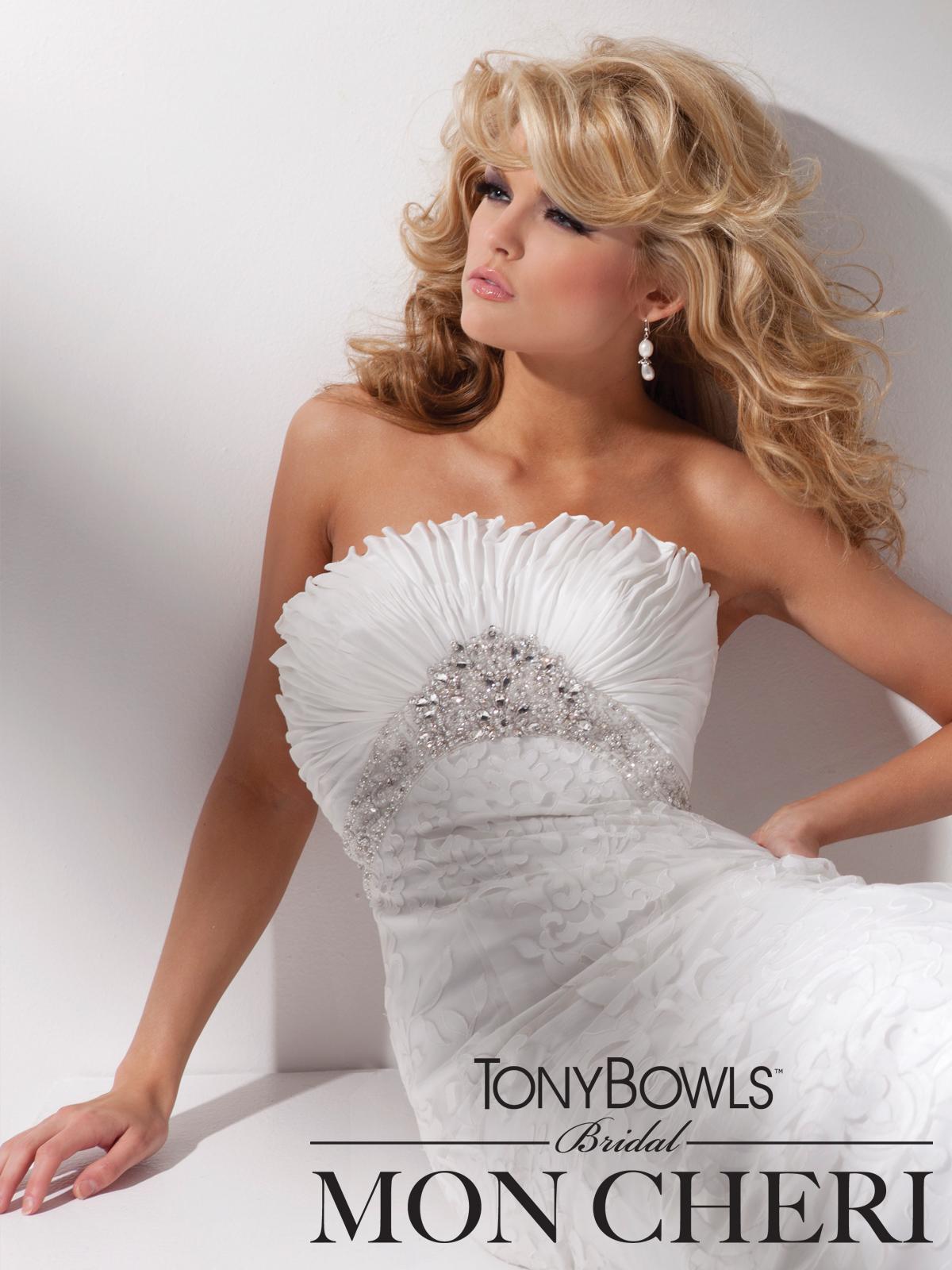 Strapless Wedding Dresses With Diamonds Hd Wallpaper