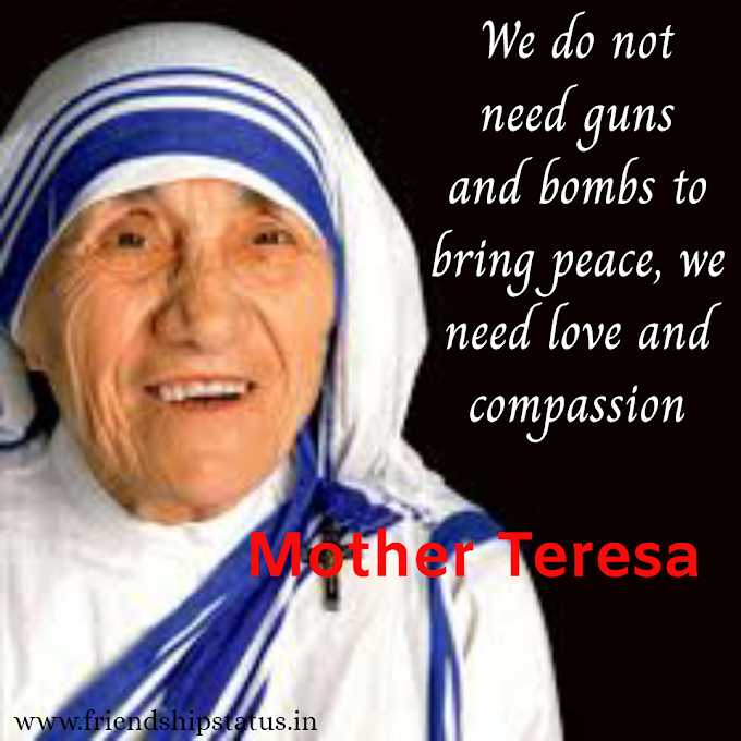 Best 20 Mother Teresa Quotes on Peace to Love All People