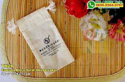 Kantong Blacu Serut Woodbreaker