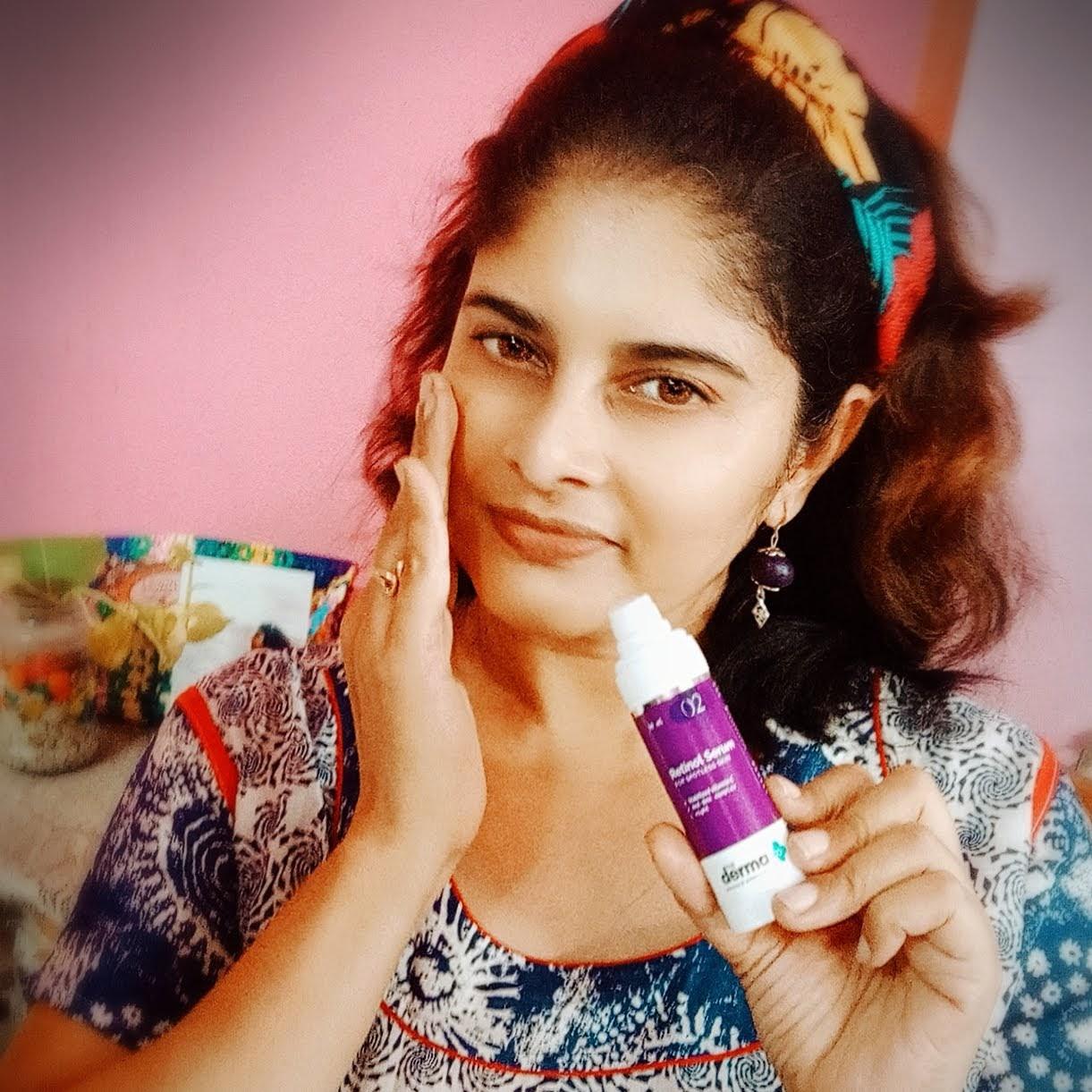 Retinol, Serum, brightening, acne, marks