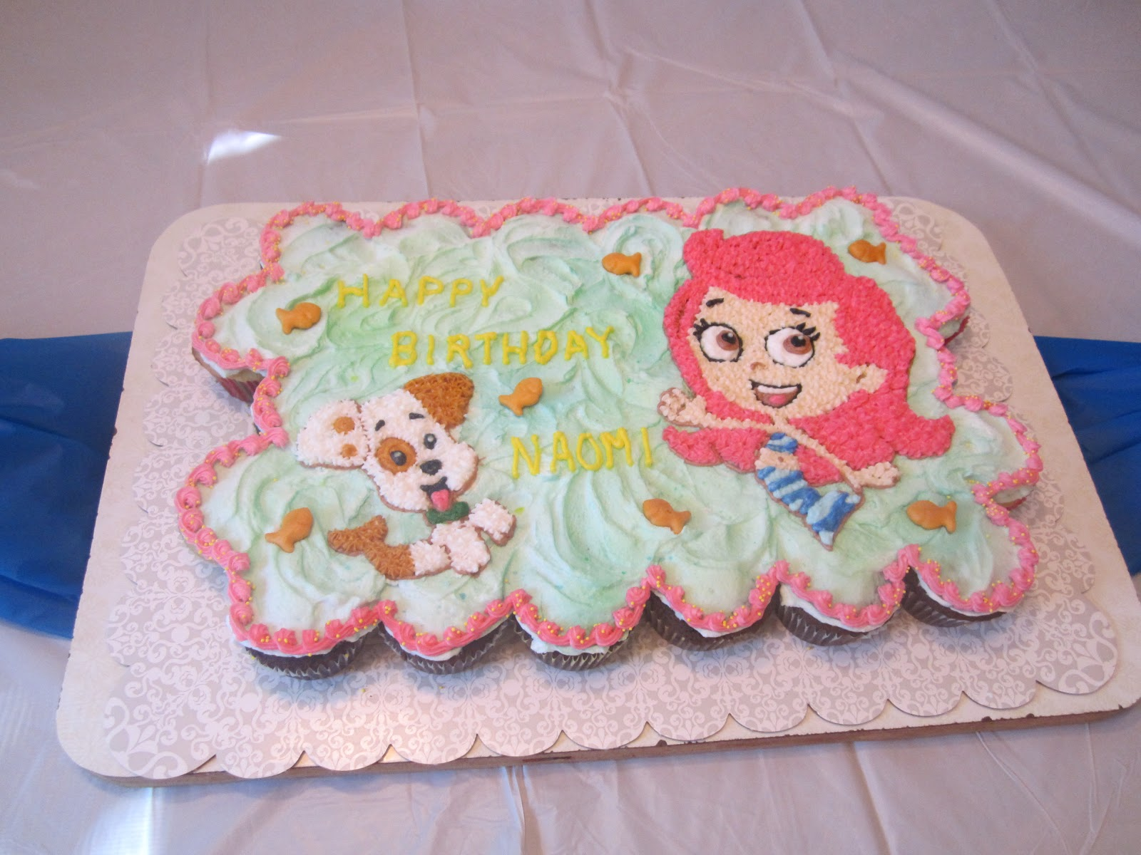 Cupcake Cakes Bubble Guppies Cupcakes And Bubble Guppies