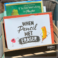 Back to School Books for kindergarten and first grade - When Pencil Met Eraser