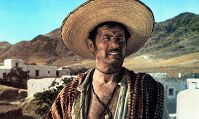 Eli Wallach as Tuco (Ugly) in Sergio Leone's The Good, the Bad and the Ugly aka Il buono, il brutto, il cattivo (1966)