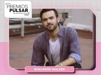 Benjamín Walker es nominado en dos categorías de los Premios Pulsar 2021