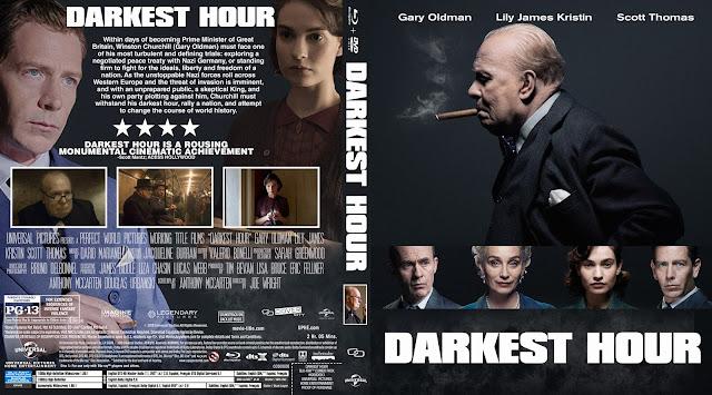 Darkest Hour Bluray Cover