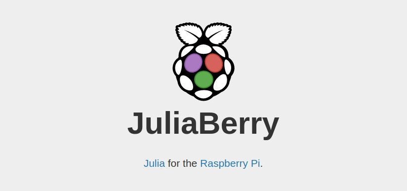Julia on Raspberry Pi - a boost on Computation