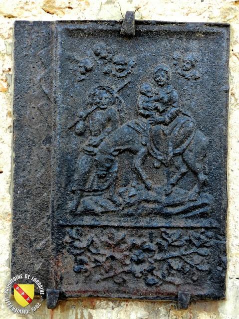LANEUVEVILLE-DEVANT-NANCY (54) - Taques de cheminées (XVIIe-XVIIIe siècles)