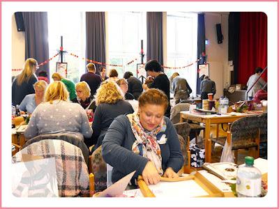 Stampin' Up! rosa Mädchen Kulmbach: Bericht vom großen Teamtreffen bei Jenni Pauli