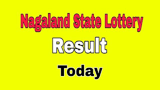 Nagaland State Lottery Result Today 12.05.2021