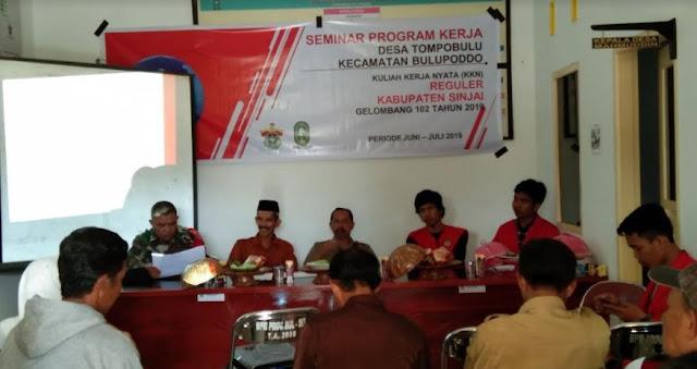 Babinsa Desa Tompobulu Ajak Mahasiswa Unhas BerTMMD