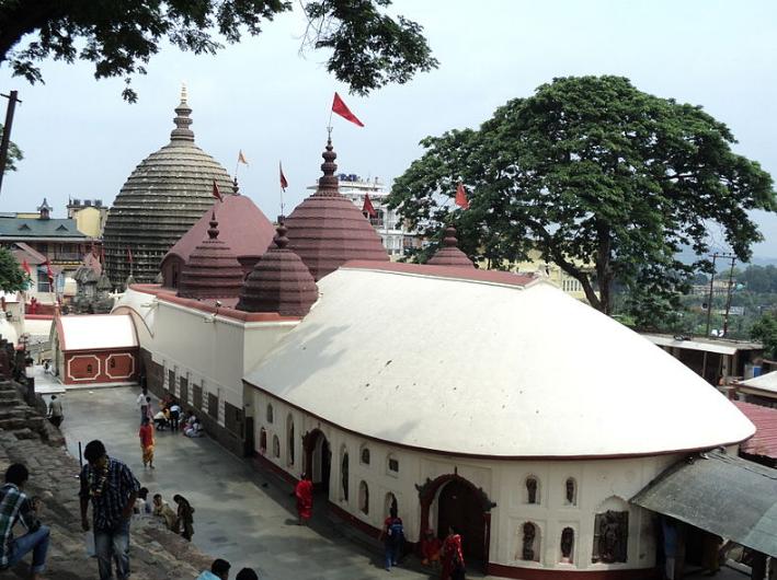 কামাখ্যা মন্দির guwahati assam ভারত, কামাখ্যা মন্দির রহস, কামাখ্যা মন্দির শিখরা ও গর্ভগ্রহ, ক্যালান্টা, পঞ্চরত্ন এবং নাটমন্দির
