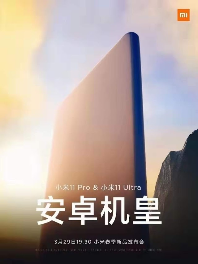 """XIAOMI MI 11 ULTRA & PRO TO CHALLENGE THE TITLE OF """"ANDROID KING"""""""