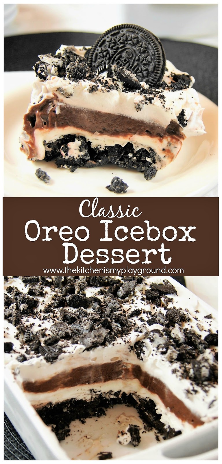 Refreshingly Yummy 2-Ingredient Oreo Icebox Cake