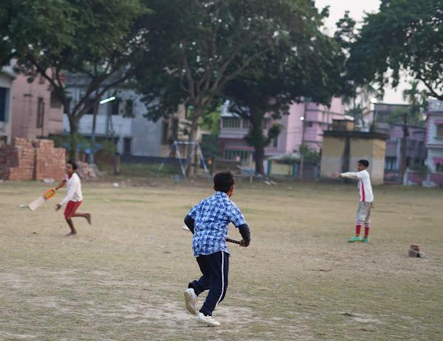 Nephew Rick Playing Cricket 4