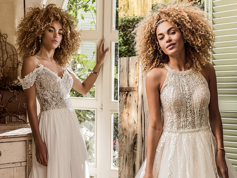 Jillian Sposa 2021 свадебное платье в стиле бохо
