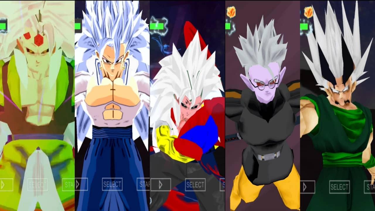 Dragon Ball AF DBZ TTT Mod