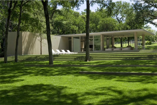 Henry&Patricia Beck House. Philip Johnson