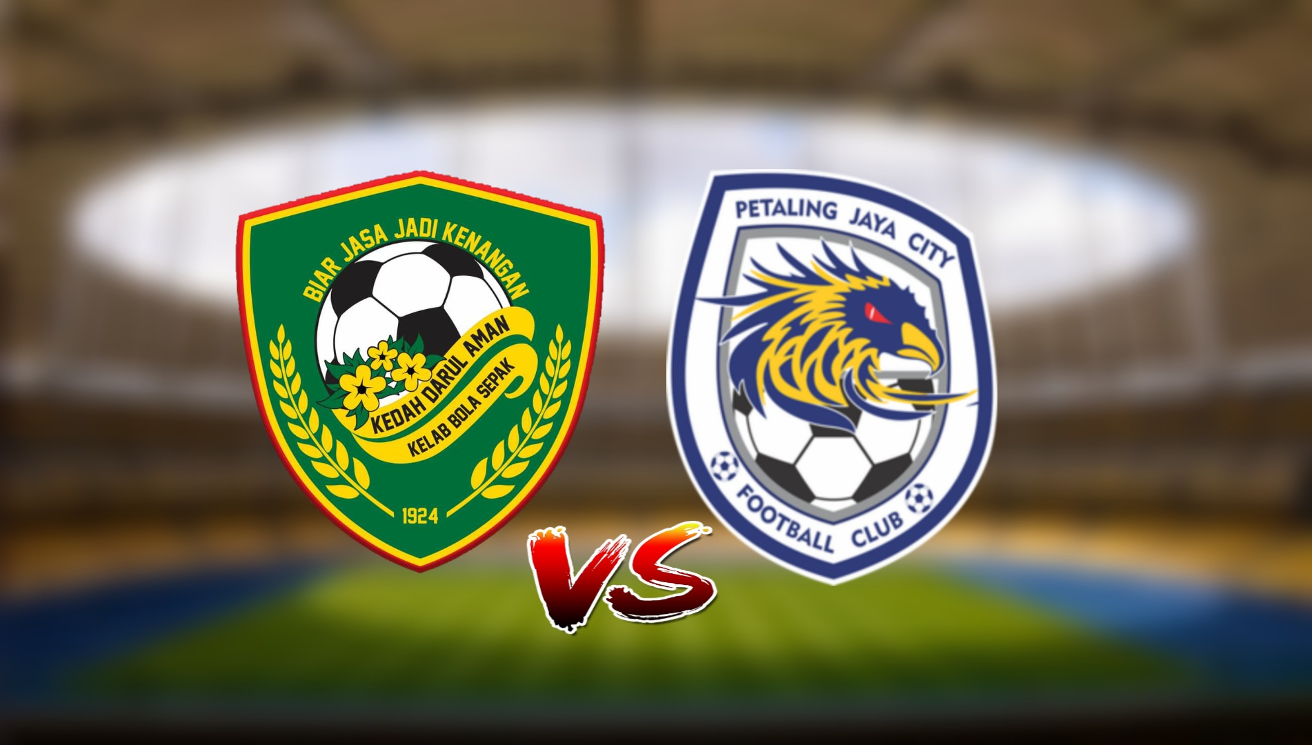 Live Streaming Kedah Darul Aman FC vs PJ City FC Liga Super 17.3.2021