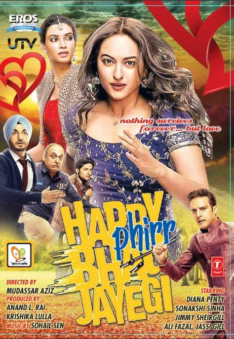 Happy Phirr Bhag Jayegi 2018 Hindi 550MB HDRip 720p HEVC x265 ESubs