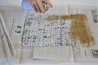 11 Gazeteden Gece Çantası Yapımı