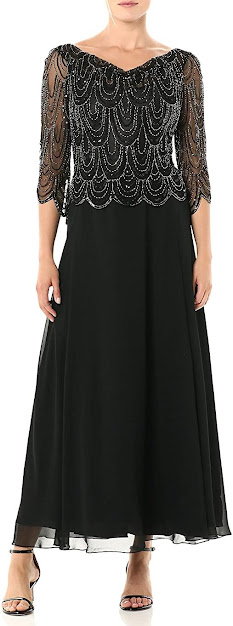 Lace Black Mother of The Bride/Groom Dresses