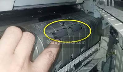Karet Vertikal mesin fotocopy