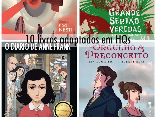 Dicas de leitura: 10 livros adaptados em histórias em quadrinhos (e em volume único!)